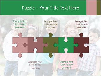 Happy Kindergarten Kids PowerPoint Template - Slide 41