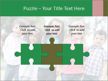 Happy Kindergarten Kids PowerPoint Template - Slide 42