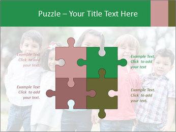 Happy Kindergarten Kids PowerPoint Template - Slide 43