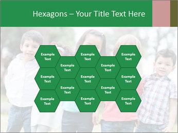 Happy Kindergarten Kids PowerPoint Template - Slide 44