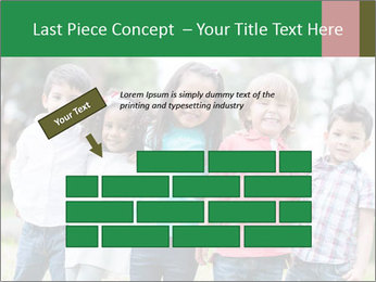 Happy Kindergarten Kids PowerPoint Template - Slide 46