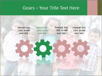 Happy Kindergarten Kids PowerPoint Template - Slide 48