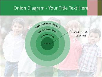 Happy Kindergarten Kids PowerPoint Template - Slide 61