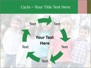 Happy Kindergarten Kids PowerPoint Template - Slide 62
