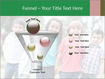 Happy Kindergarten Kids PowerPoint Template - Slide 63