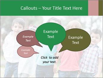 Happy Kindergarten Kids PowerPoint Template - Slide 73