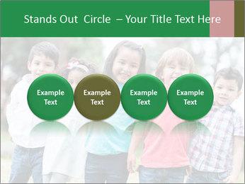Happy Kindergarten Kids PowerPoint Template - Slide 76