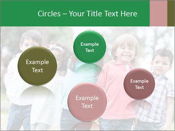 Happy Kindergarten Kids PowerPoint Template - Slide 77