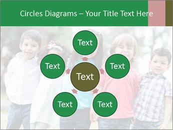 Happy Kindergarten Kids PowerPoint Template - Slide 78