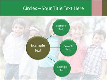 Happy Kindergarten Kids PowerPoint Template - Slide 79