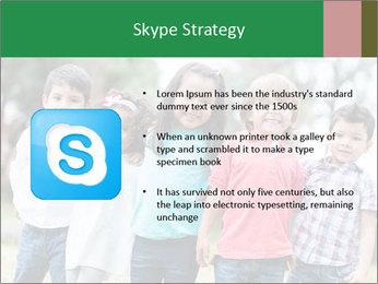 Happy Kindergarten Kids PowerPoint Template - Slide 8