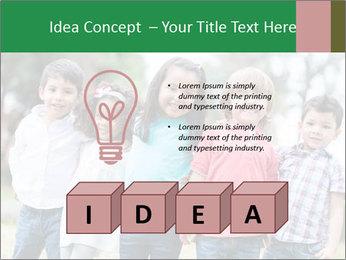Happy Kindergarten Kids PowerPoint Template - Slide 80