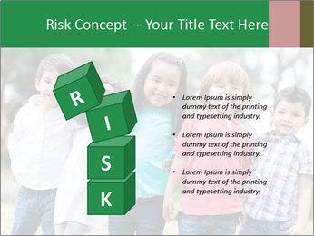 Happy Kindergarten Kids PowerPoint Template - Slide 81