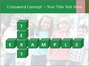 Happy Kindergarten Kids PowerPoint Template - Slide 82