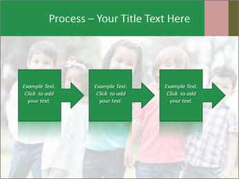 Happy Kindergarten Kids PowerPoint Template - Slide 88