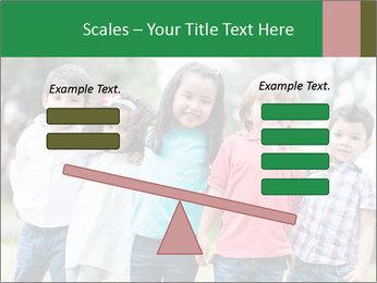 Happy Kindergarten Kids PowerPoint Template - Slide 89