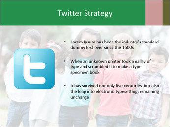 Happy Kindergarten Kids PowerPoint Template - Slide 9