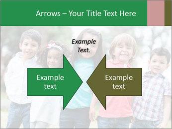 Happy Kindergarten Kids PowerPoint Template - Slide 90