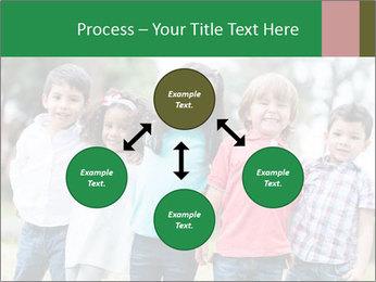 Happy Kindergarten Kids PowerPoint Template - Slide 91