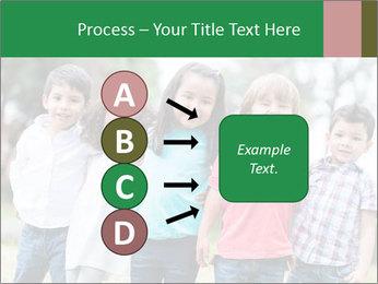 Happy Kindergarten Kids PowerPoint Template - Slide 94