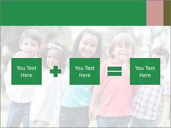 Happy Kindergarten Kids PowerPoint Template - Slide 95