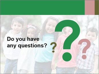 Happy Kindergarten Kids PowerPoint Template - Slide 96