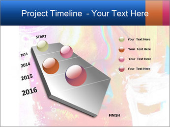 Abstract Face Art PowerPoint Template - Slide 26