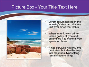 Beach In Tasmania PowerPoint Template - Slide 13