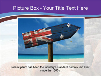 Beach In Tasmania PowerPoint Template - Slide 15