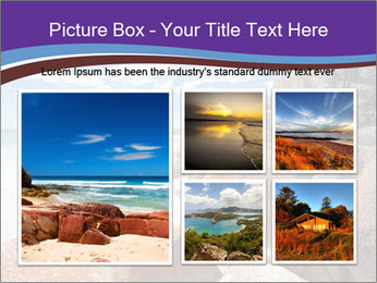 Beach In Tasmania PowerPoint Template - Slide 19