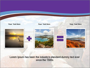 Beach In Tasmania PowerPoint Template - Slide 22