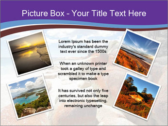 Beach In Tasmania PowerPoint Template - Slide 24