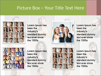 Funny Photo Collage PowerPoint Templates - Slide 14