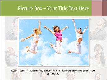 Funny Photo Collage PowerPoint Templates - Slide 15