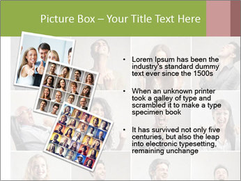 Funny Photo Collage PowerPoint Templates - Slide 17
