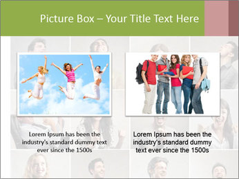 Funny Photo Collage PowerPoint Templates - Slide 18