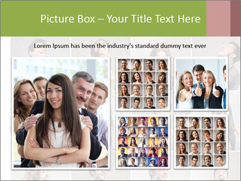 Funny Photo Collage PowerPoint Templates - Slide 19
