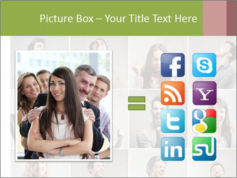 Funny Photo Collage PowerPoint Templates - Slide 21