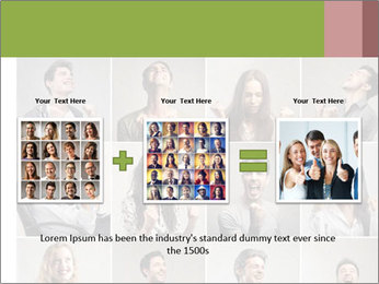 Funny Photo Collage PowerPoint Templates - Slide 22