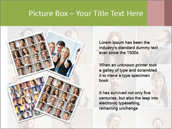 Funny Photo Collage PowerPoint Templates - Slide 23