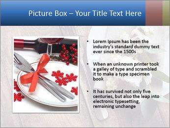 Banquet Decor PowerPoint Template - Slide 13