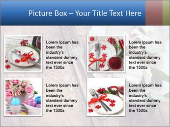 Banquet Decor PowerPoint Template - Slide 14