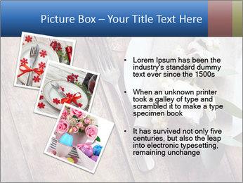 Banquet Decor PowerPoint Template - Slide 17