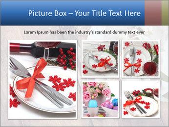 Banquet Decor PowerPoint Template - Slide 19