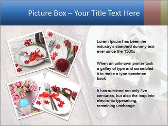 Banquet Decor PowerPoint Template - Slide 23