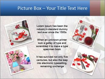 Banquet Decor PowerPoint Template - Slide 24