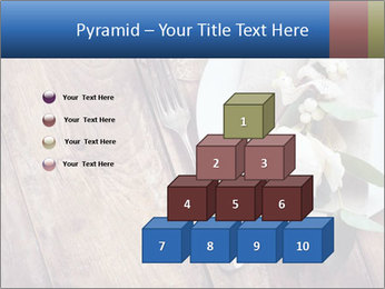 Banquet Decor PowerPoint Template - Slide 31