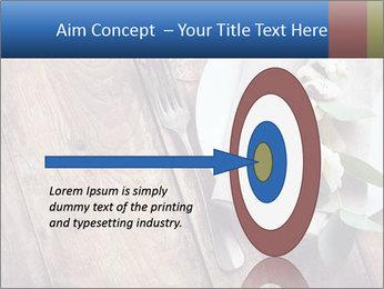 Banquet Decor PowerPoint Template - Slide 83