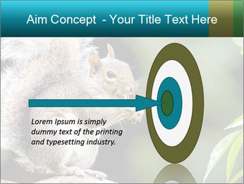 Cute Squirrel PowerPoint Template - Slide 83