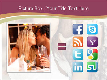 Glamour Couple PowerPoint Template - Slide 21